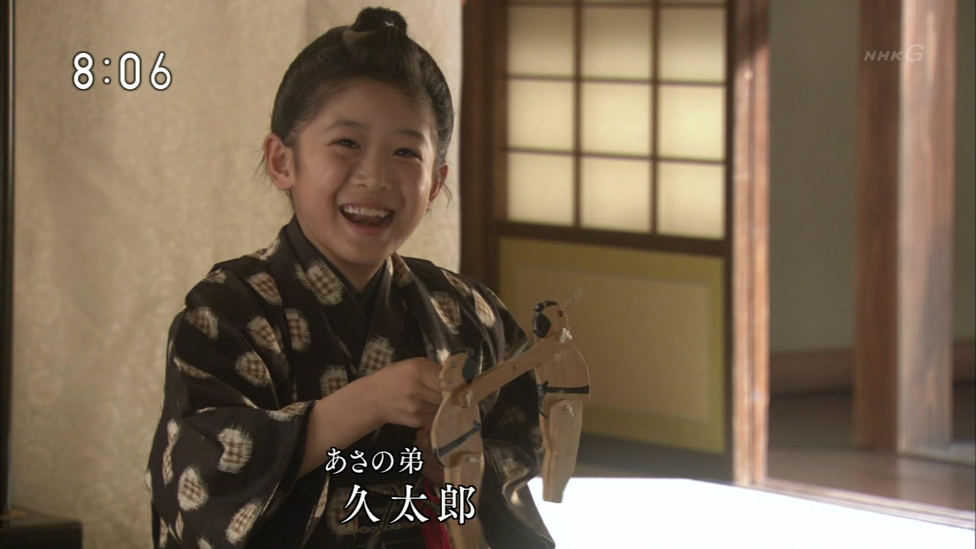 2015-09-28 08:00 連続テレビ小説 あさが来た(1)「小さな許嫁(いいなずけ)」 12799