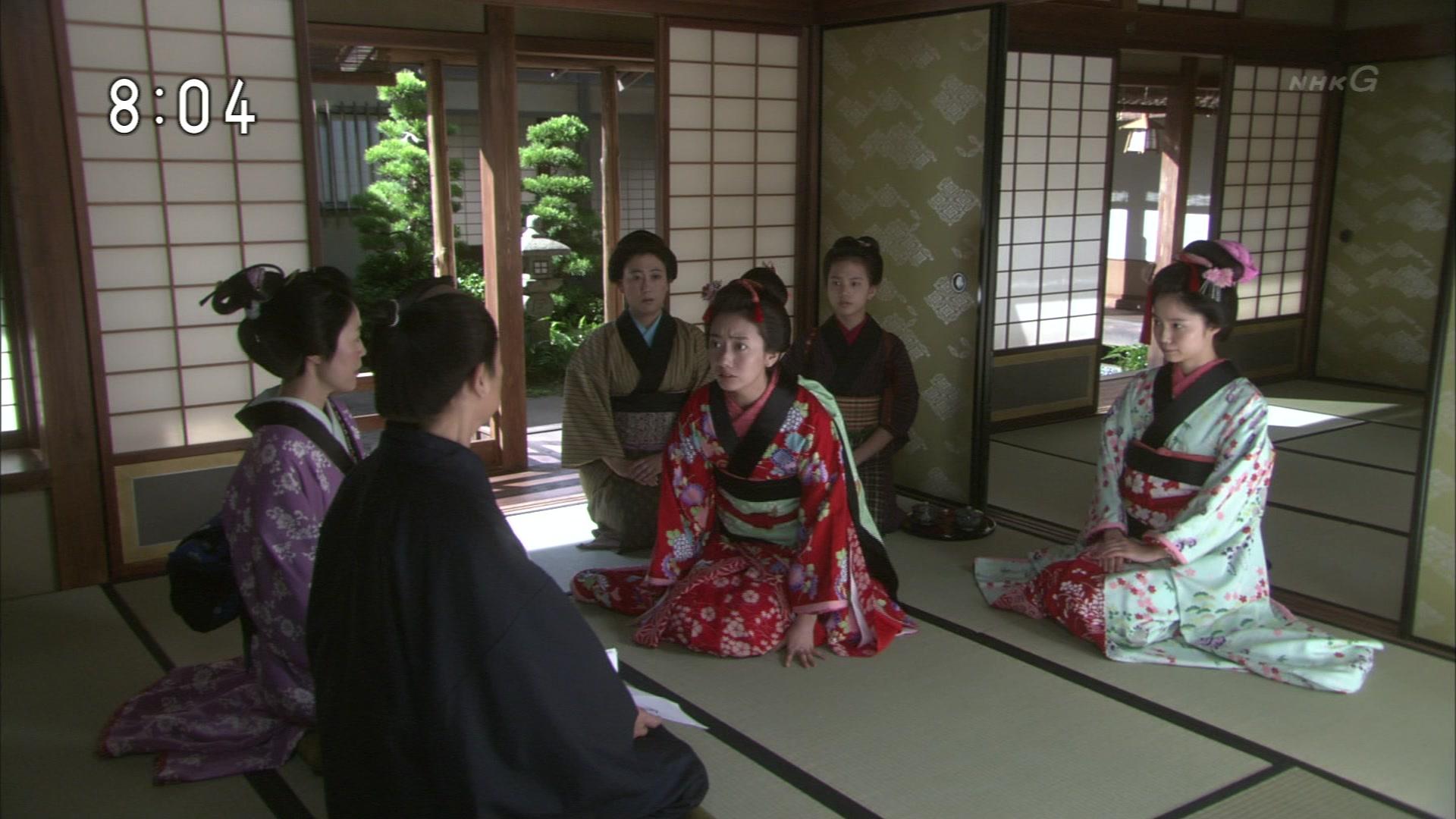 2015-10-06 08:00 連続テレビ小説 あさが来た(8)「ふたつの花びら」 0776