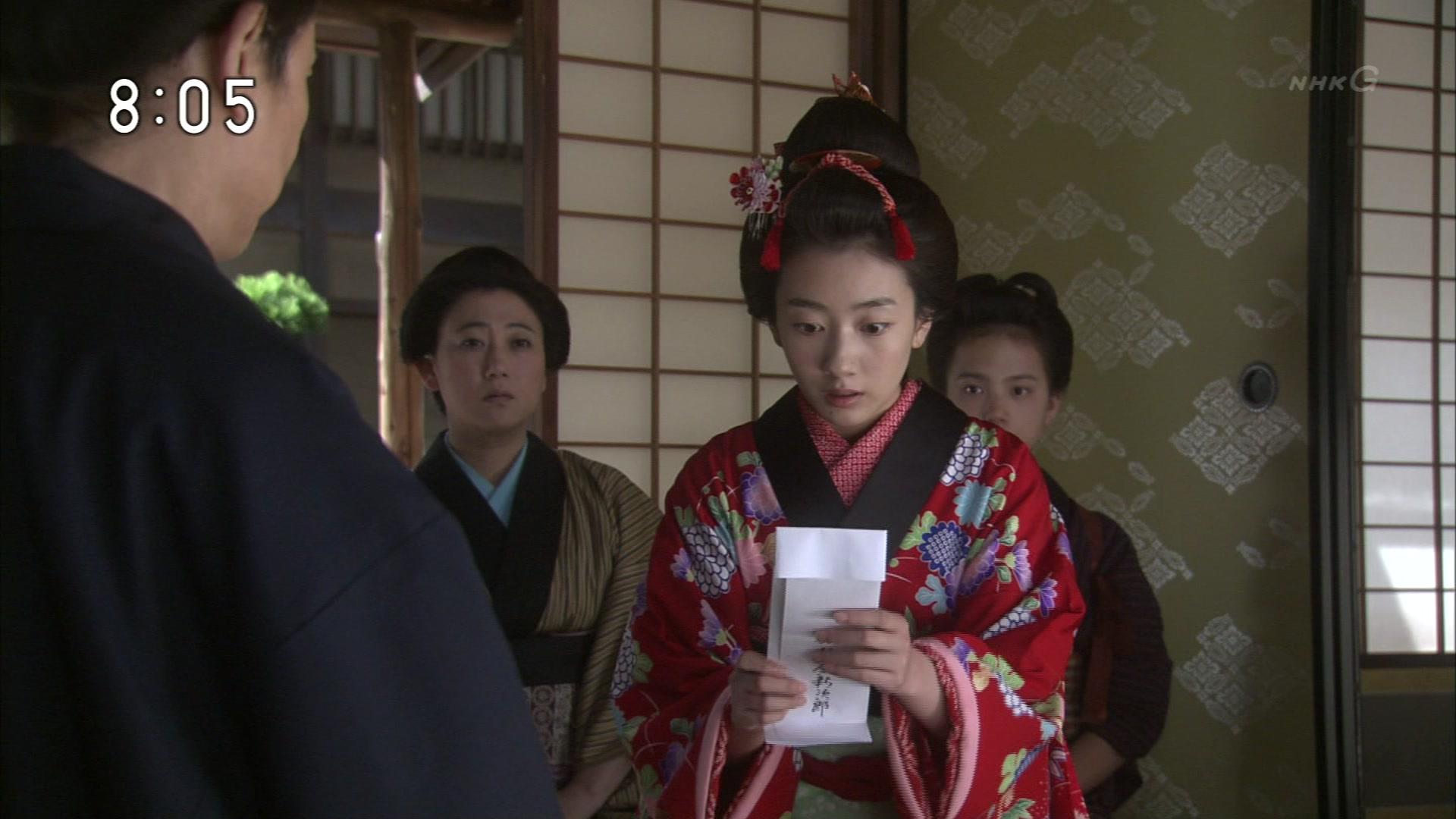 2015-10-06 08:00 連続テレビ小説 あさが来た(8)「ふたつの花びら」 1068