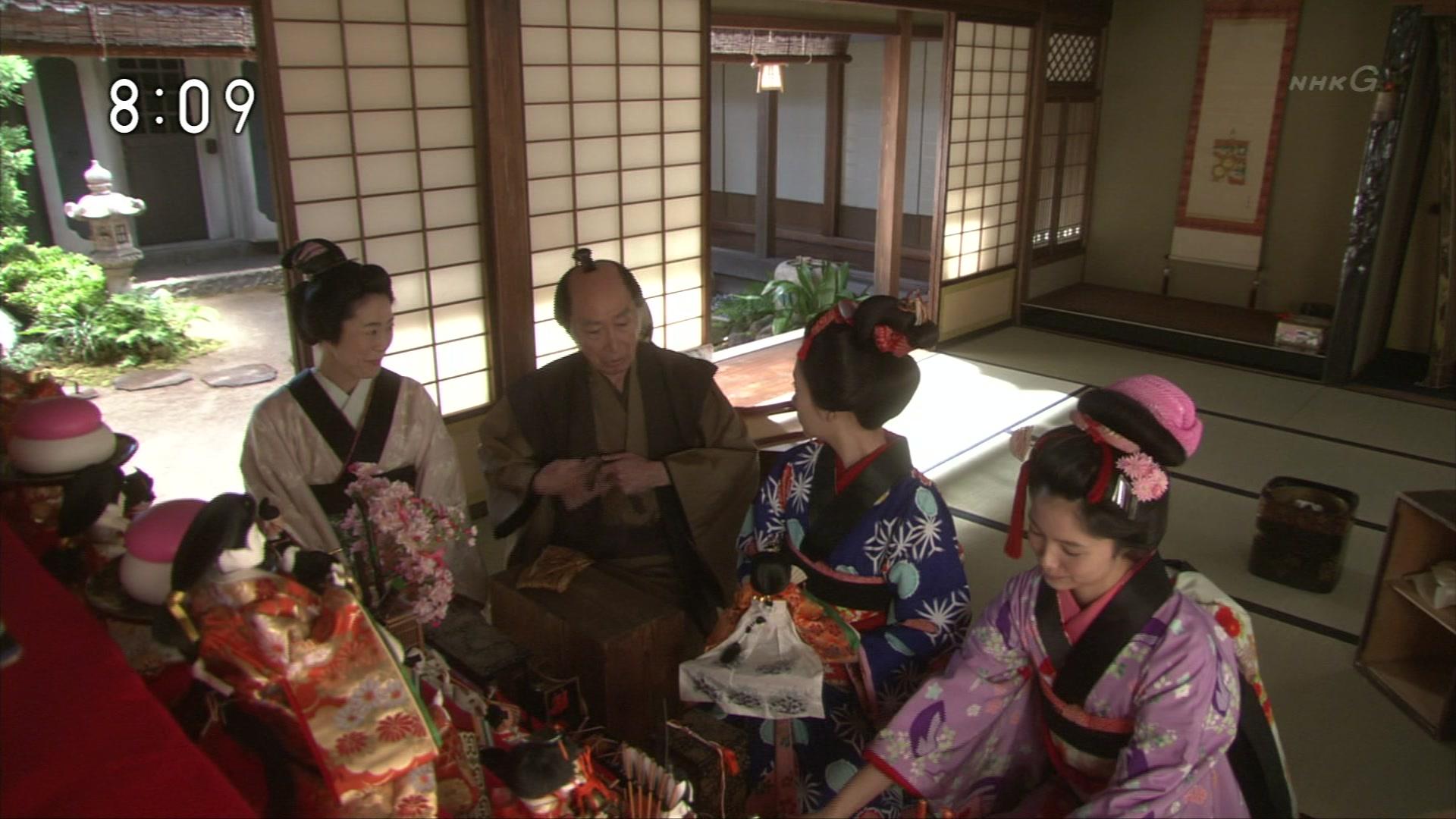 2015-10-07 08:00 連続テレビ小説 あさが来た(9)「ふたつの花びら」 1781