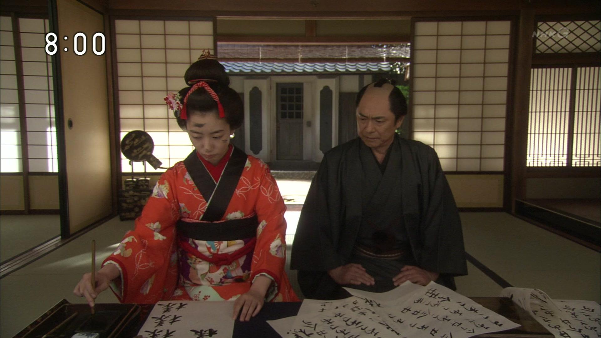 2015-10-09 08:00 連続テレビ小説 あさが来た(11)「ふたつの花びら」 0156