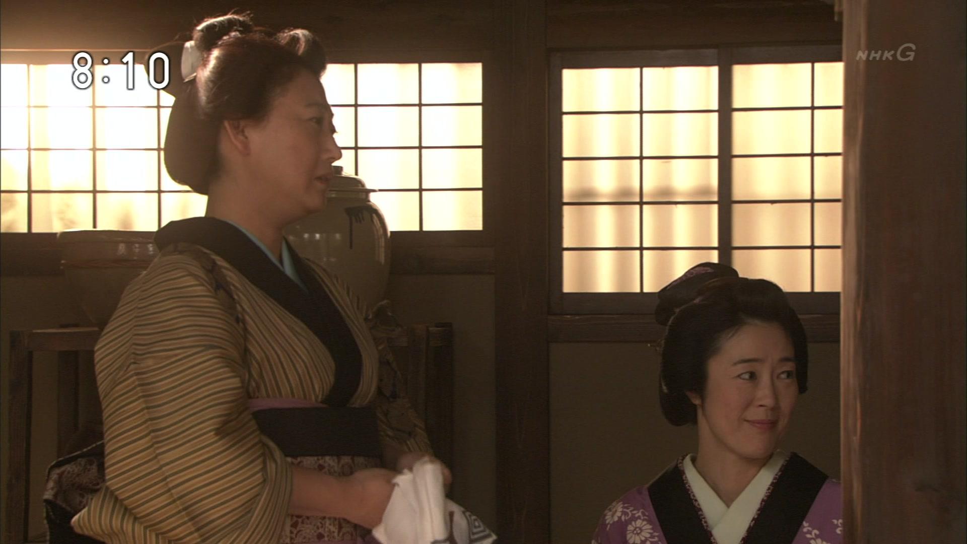 2015-10-06 08:00 連続テレビ小説 あさが来た(8)「ふたつの花びら」 1845