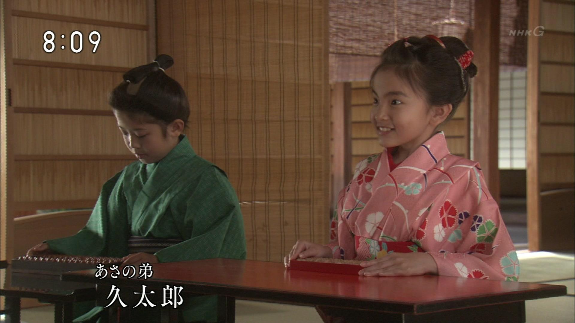 2015-10-03 08:00 連続テレビ小説 あさが来た(6)「小さな許嫁(いいなずけ)」 1777
