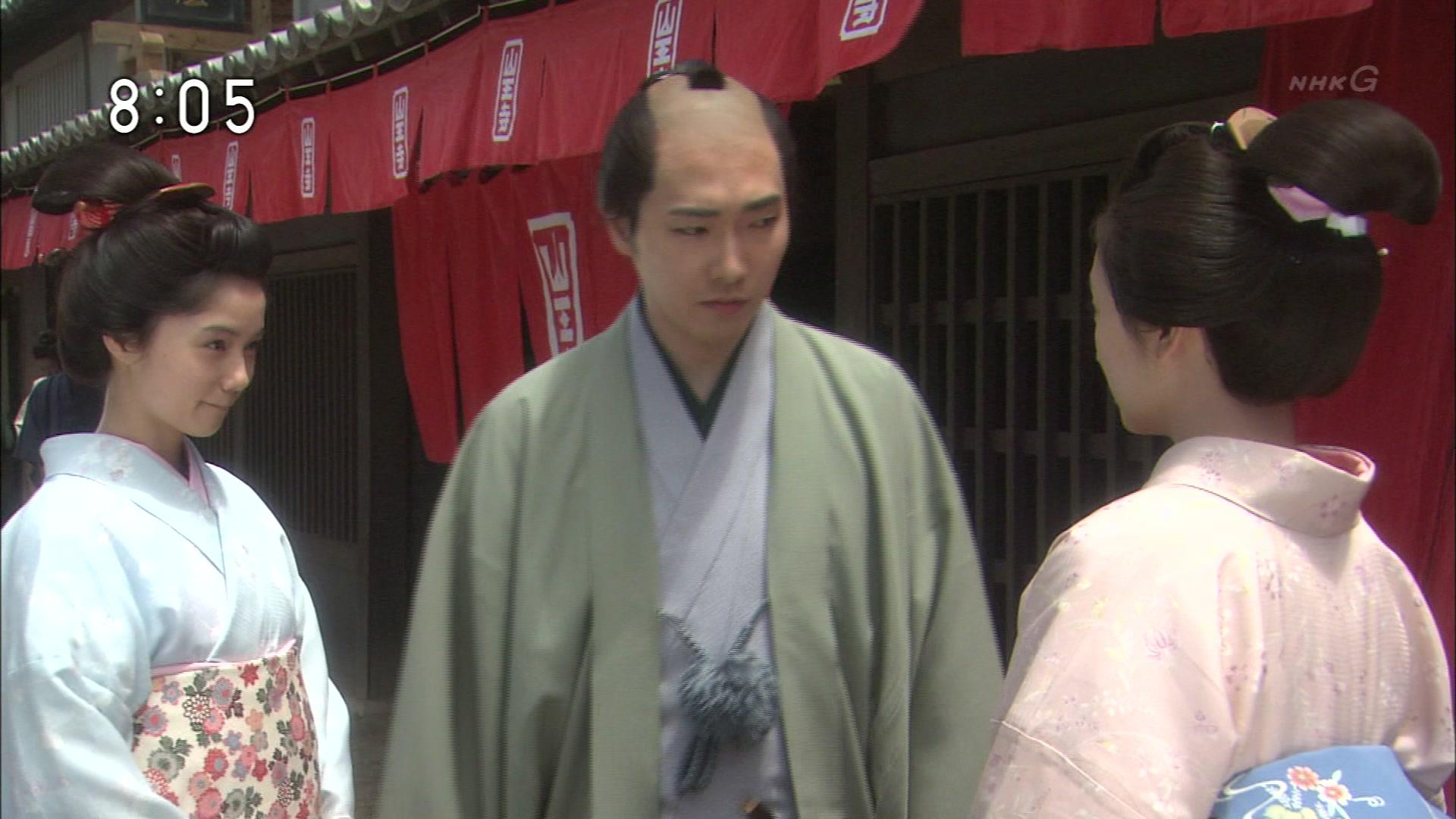 2015-10-14 08:00 連続テレビ小説 あさが来た(15)「新選組参上!」 1086