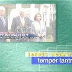 2019年1月11日「temper tantrum」