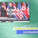 2019年1月31日「contradict」