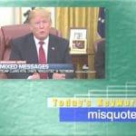 2019年2月2日「misquote」