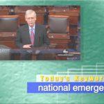 2019年2月16日「national emergency」