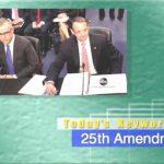 2019年2月19日「25th Amendment」