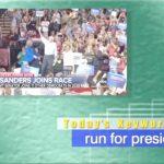 2019年2月21日「run for president」