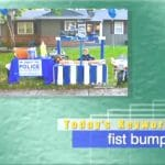2019年3月6日「fist bump」