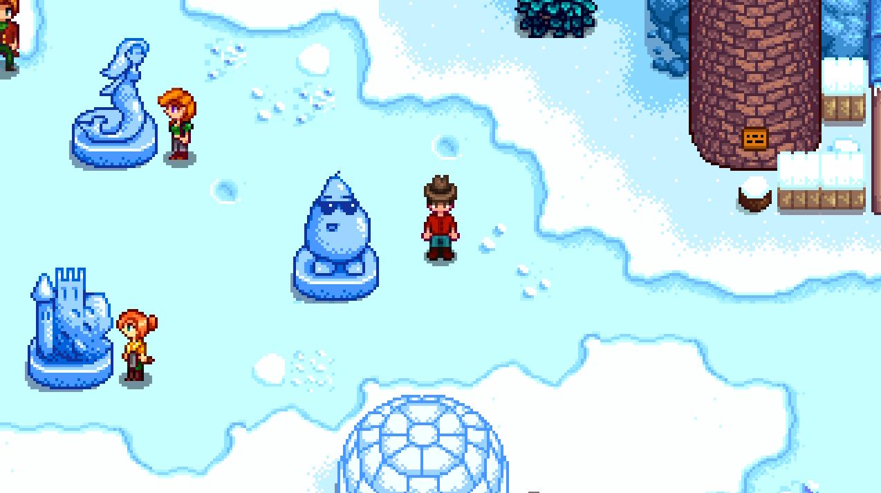 スターデューバレーの氷まつり
