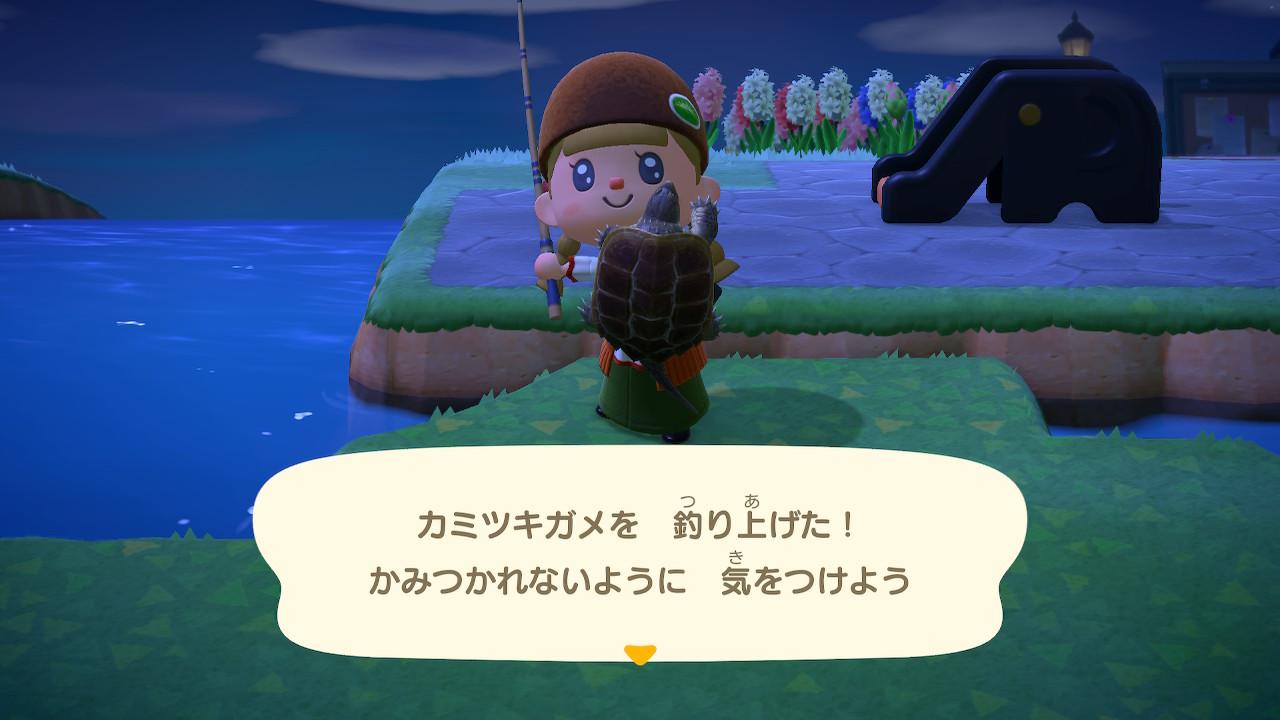 あつ森のカミツキガメ