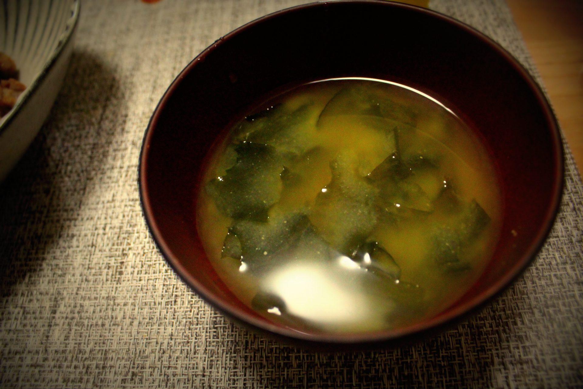 わかめの味噌汁 レシピ